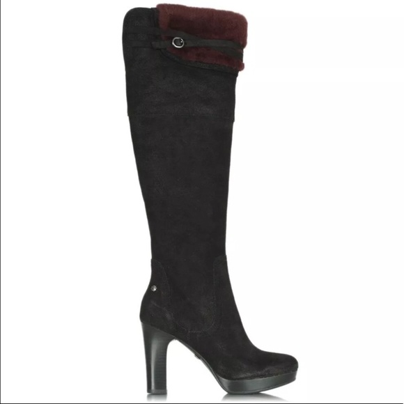 fbb4c82dd26 Brand new black high heeled boots (comes with box) NWT
